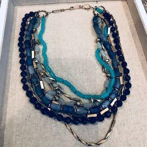 Stella & Dot Jewelry - Sutton Necklace - Green Stone